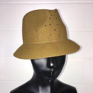 Tarnish Wool Brimmed Hat Army Green
